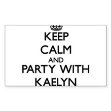 Keep Calm and Party with Kaelyn Decal