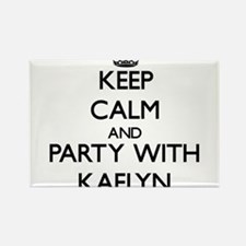 Keep Calm and Party with Kaelyn Magnets