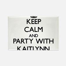 Keep Calm and Party with Kaitlynn Magnets