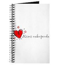 """I Love You"" [Swahili] Journal"