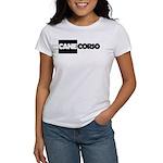Cane Corso B&W Women's T-Shirt