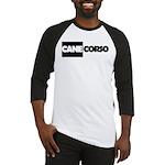 Cane Corso B&W Baseball Jersey