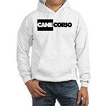 Cane Corso B&W Hooded Sweatshirt