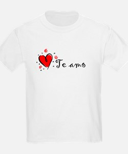 """I Love You"" [Spanish] Kids T-Shirt"