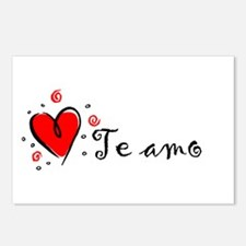 """""""I Love You"""" [Spanish] Postcards (Package of 8)"""