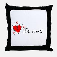 """I Love You"" [Spanish] Throw Pillow"