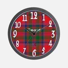 Grant Clan Wall Clock