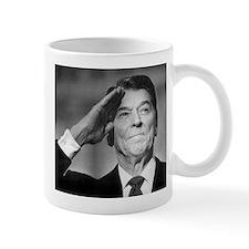 Ronald Reagan Salutes Mugs