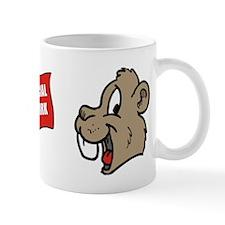 Beaver Social Work Flag Mug