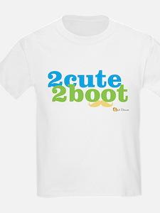 2 Cute 2 Boot boy T-Shirt