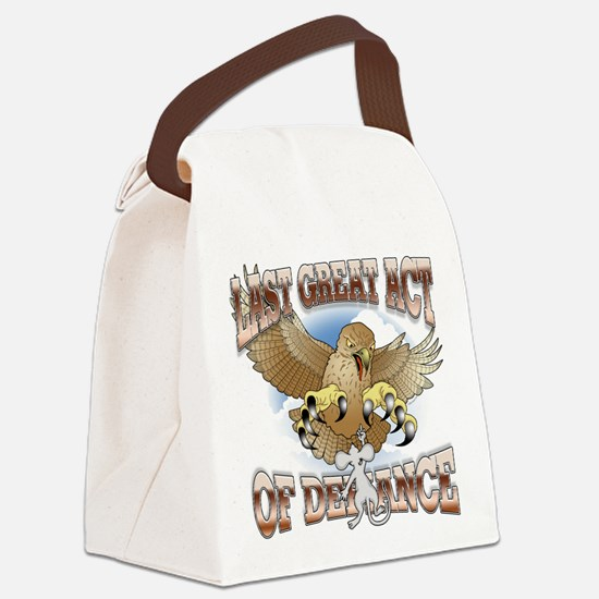Last Great Act of Defiance v2 Canvas Lunch Bag