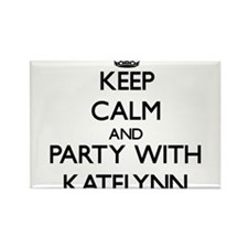 Keep Calm and Party with Katelynn Magnets