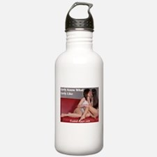 Girls Know What Girls Like Sports Water Bottle