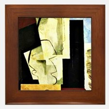 Louis Marcoussis art: Concert, 1928 Framed Tile