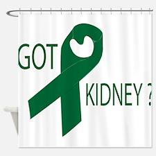 Got Kidney Shower Curtain