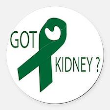 Got Kidney Round Car Magnet