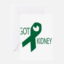 Got Kidney Greeting Card