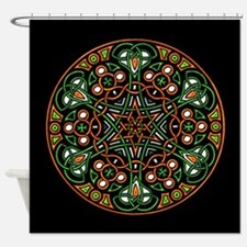 Eire Wheel Shower Curtain