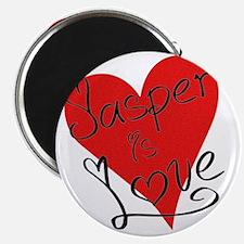 is_love_jasper Magnet