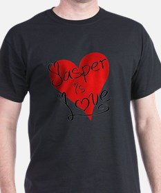 is_love_jasper T-Shirt