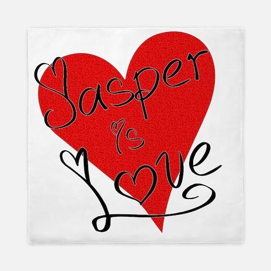 is_love_jasper Queen Duvet