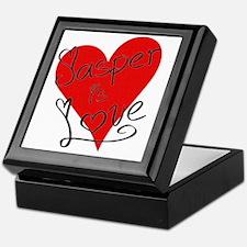 is_love_jasper Keepsake Box