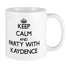 Keep Calm and Party with Kaydence Mugs