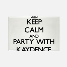 Keep Calm and Party with Kaydence Magnets