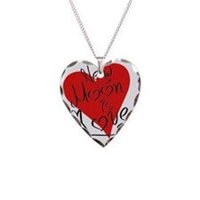 is_love_newmoon Necklace
