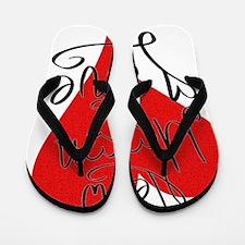 is_love_newmoon Flip Flops