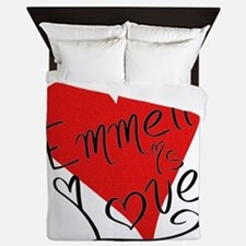 is_love_emmett Queen Duvet