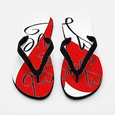 is_love_jacob Flip Flops