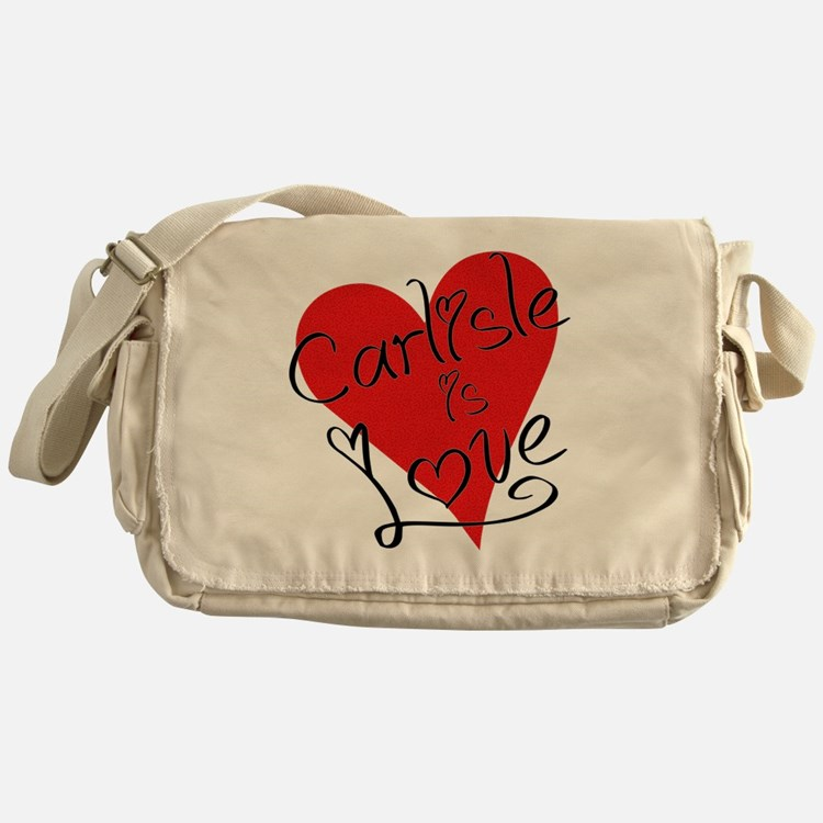 is_love_carlisle Messenger Bag