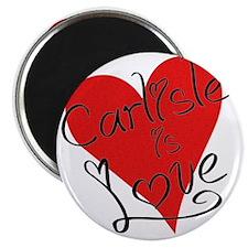 is_love_carlisle Magnet