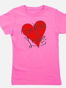is_love_carlisle Girl's Tee