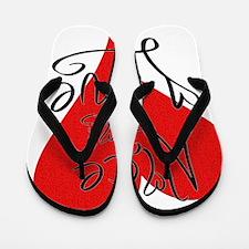 is_love_alice Flip Flops