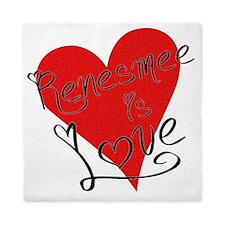 is_love_renesmee Queen Duvet
