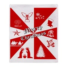 Merry Christmas, Gifts  Throw Blanket