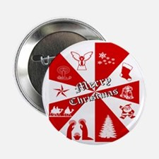 "Merry Christmas, Gifts  2.25"" Button"