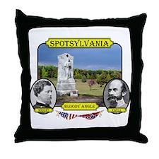 Spotsylvania-Bloody Angle Throw Pillow