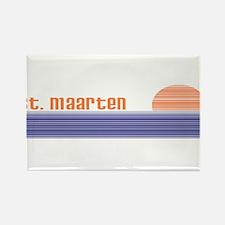 Funny Mullet vintage Rectangle Magnet