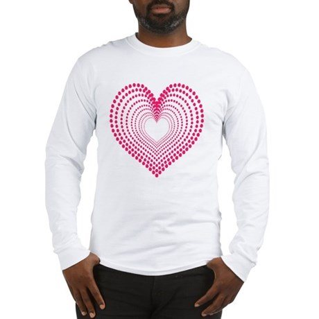 hearts 3TD Long Sleeve T-Shirt