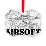 Airsoft Picture Frame Ornaments