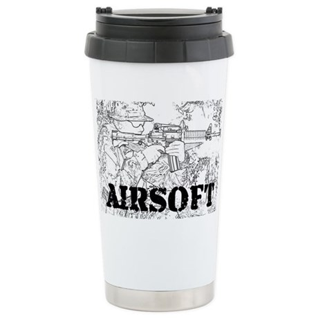 airsoft 010 Stainless Steel Travel Mug