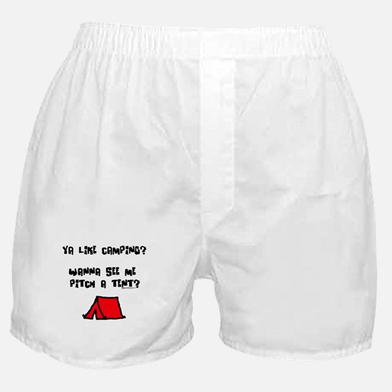 Pitch a Tent Boxer Shorts