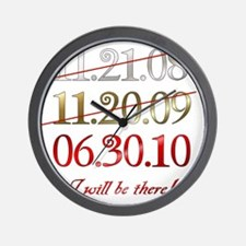 dates_i_will Wall Clock