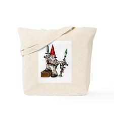 Gnome of Mass Destruction Tote Bag
