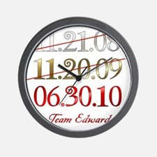 dates_team_ed Wall Clock