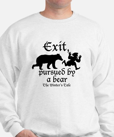 Exit-Bear cafe press Sweater