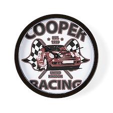 Cooper Racing funk copy Wall Clock